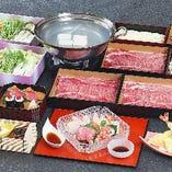 【全7品】近江牛にぎりもご堪能いただけます『近江牛しゃぶ三昧コース』