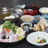 【全7品】冬鍋の代表格を愉しむ『てっちりセット』