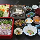 【全7品】贅沢な味わいを愉しむ鍋宴会『くえ鍋フルコース』