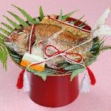 【お祝い料理】祝鯛(中)