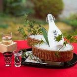 がんこオリジナル日本酒「頑固一徹」は、どのお料理とも相性抜群