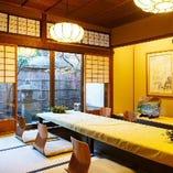 【2~6名様】上賀茂の間 掘り炬燵式 旅館のような落ち着く空間です