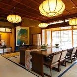 【6~8名様】加茂の間 鴨川と高瀬川庭園を望む京都らしさを堪能できるお部屋