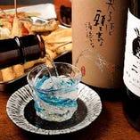 【四季折々の日本酒】 常時4種を完備している日本酒は必見です