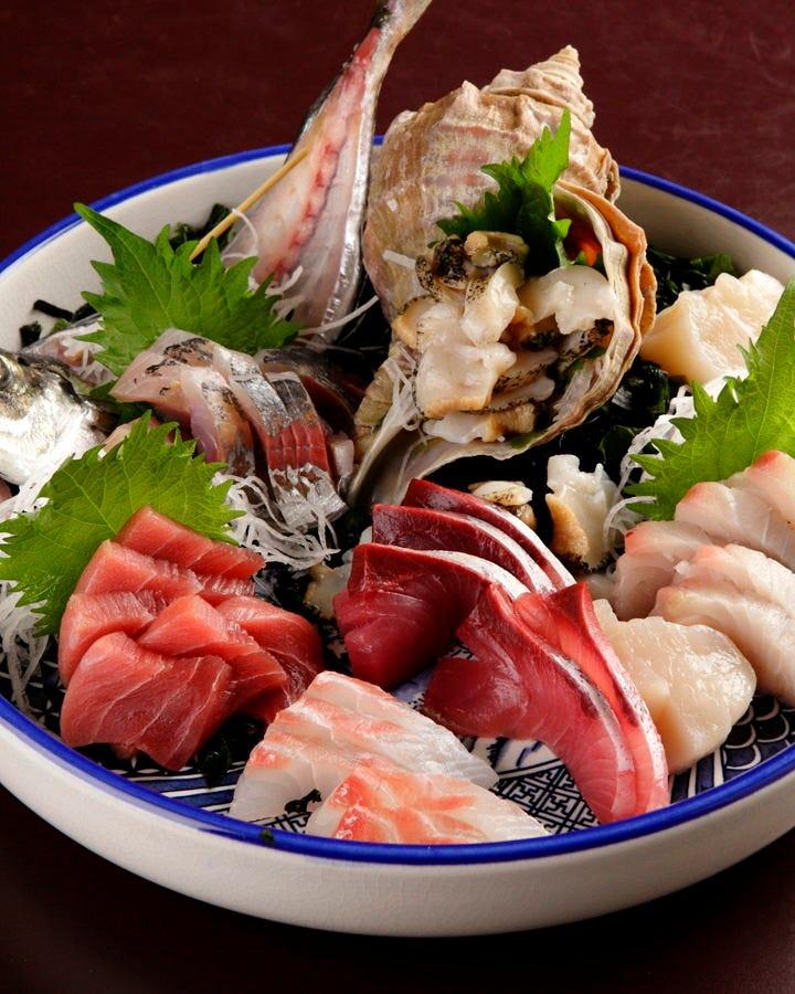 自慢の鮮魚をご堪能ください!やっぱり天然物が絶品!
