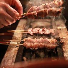 【本格串焼き】朝引き地鶏の焼き鳥