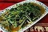 パックブン・ファイデン(空芯菜の炒めもの)