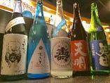 季節がわりの日本酒
