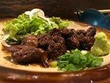 牛ハラミ焼き 自家製焼肉のタレ