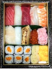 「一」のお寿司弁当(最小1個から 前日15時までのご予約)