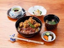 鰻と穴子天ぷらあいもり丼