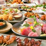 食べきれない人続出の ボリューム満点なコース料理