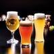 【両フロア共通】浩養園のオリジナルクラフトビール3種類。