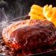 【ステーキ&ハンバーグフロア】拘りの手ごねハンバーグ!
