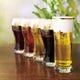 ヱビスビール4種、サッポロ生ビール黒ラベル。多品種ビールあり