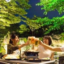 名古屋のビヤガーデンと言えば浩養園