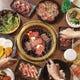 焼肉フロア:多彩なメニューご家族、ご友人同士で焼肉パーティー