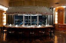 ホテル最上階からの眺望