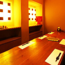 少人数様用の個室です。接待やデート等様々なシーンでご利用いただけます。