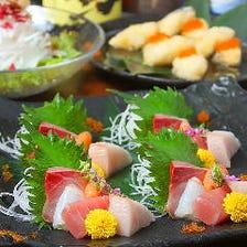 瀬戸内の新鮮な魚を堪能!