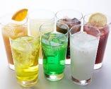 100%果実ジュースや飲むヨーグルトなど 20種類