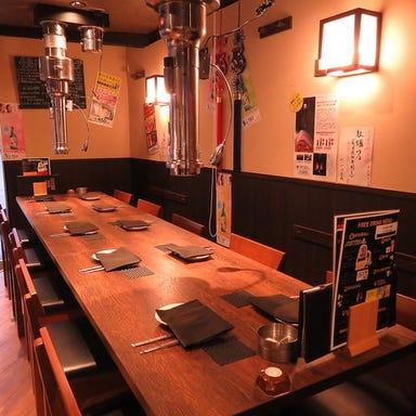七輪焼肉 加羅  店内の画像