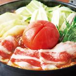 【甘みと酸味が織り重なる トマトすき焼き鍋】
