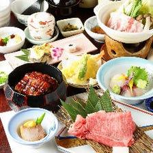 旬満載!華やかな日本料理を愉しめる
