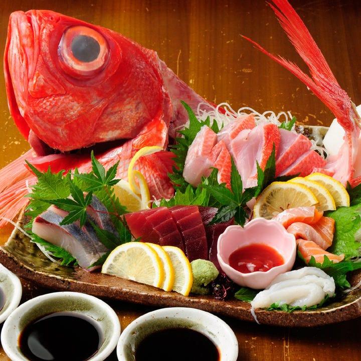旬の魚介と職人技に舌鼓