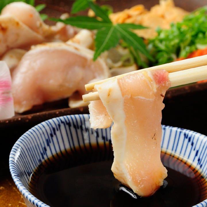 近江軍鶏などこだわりの味を堪能