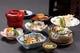 なでしこ 海老天ぷらに松茸の土瓶蒸し