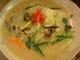 タピオカ生麺で野菜タップリのスープ麺