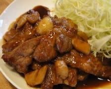 肉も野菜も国産食材使用