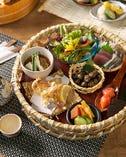 彩り豊かな季節の料理をご用意!