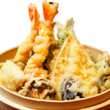 海老とその日の天ぷら盛
