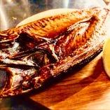 トロ鯖の塩焼き