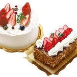TBSテレビ「王様のブランチで、紹介頂いた苺のショートケーキ