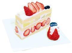 【数量限定】 クラウンメロンと国産苺のプレミアムジャンボショートケーキ  『4限定』