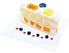 【数量限定】 高知県産エメラルドメロンと赤肉メロンのプレミアムジャンボショートケーキ  『5限定』