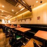 【半個室】テーブル席(4~24名様)