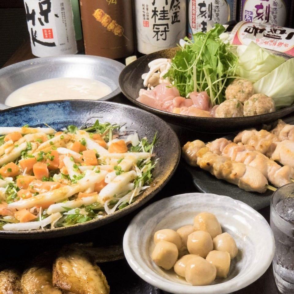 ◆季節の旬菜コース◆3H飲み放題付4500円⇒3500円(税込)