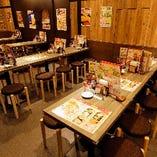 【宴会最大30名様迄】大小様々なテーブル席完備