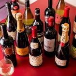 【樽生スパークリングワイン】620円やカクテル等もオススメ