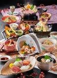 【季節の味覚会席】季節の会席料理もご用意。