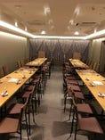 最大56名様着席可能なパーティースペースが新設いたしました!