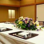 《法事向き個室》10~40名様まで。弔事、法事・法要会食に最適です。