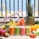 フルーツと野菜の手づくりフレッシュスムージー
