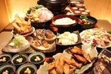 菊屋の満足宴会コース★