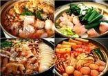 菊屋自慢の鍋料理☆