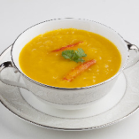 かぼちゃとフカヒレのスープ